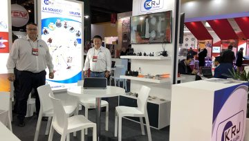 Connector Industry KRJ participates in BIEL Light + Building - Argentina - for new business and market expansion